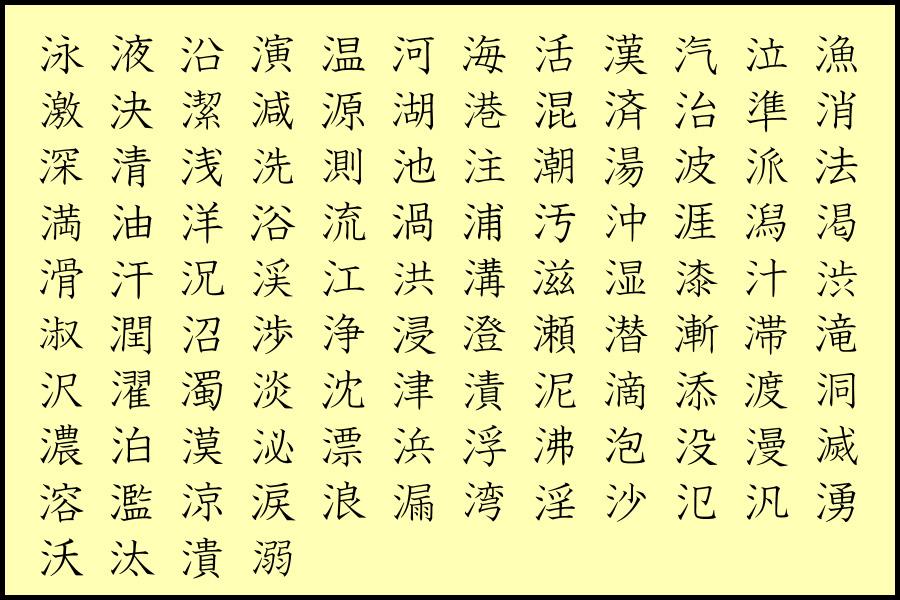 漢字 の へん と つくり